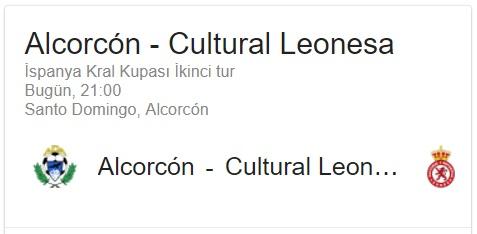 7 Eylül 2017 Alcorcon Cultural Leones maçı iddaa oran analizi ve tahmini