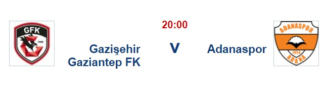 8 Eylül 2017 Gazişehir Gaziantep Adanaspor TFF 1.Lig